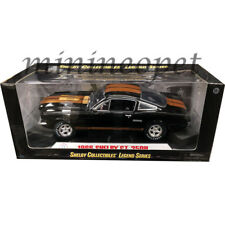 SHELBY COLLECTIBLES 360 BK 1966 66 SHELBY MUSTANG GT-350H 1/18 DIECAST BLACK