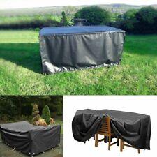 Heavy Duty Waterproof Patio Garden Furniture Cover Outdoor Large Rattan Table UK