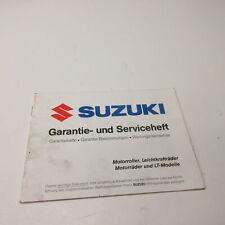 Serviceheft Suzuki GSX 750 AE Inazuma