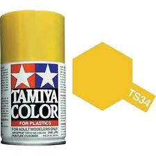Tamiya TS-34 CAMEL YELLOW Spray Paint Can 3 oz 100 ml #85034 Mid America Raceway