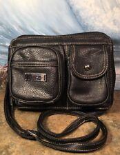 multisac crossbody Small Black Multi Comparment Bag