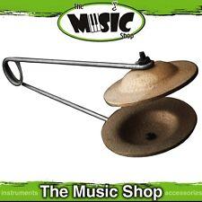 Zildjian FX Metal Castanets - Heavy Mounted Finger Cymbals - P0775