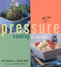 PRESSURE COOKING FOR EVERYONE - ARLENE WARD, ET AL. RICK RODGERS (PAPERBACK) NEW