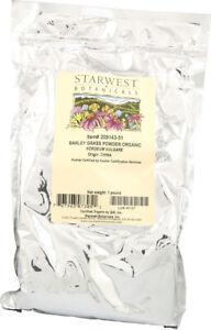 Organic Barley Grass Powder by Starwest Botanicals, 1 lbs