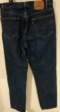 LEVI'S 550 Relaxed Fit Blue Jeans Size W36 x L34