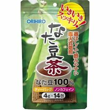 New ORIHIRO natamame tea sword bean tea 4g x 14pcs supplement Japan