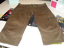 """pantalon 3/4 brun   dame """"ZARA"""" T 42"""