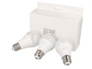 Lot de 3 ampoules Led culot E27 9W