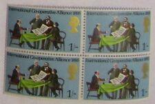 1970 - 1s-General Aniversarios-Cooperación internacional Alianza 4 Sellos