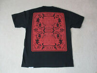 Diamond Supply Company Shirt Adult Large Black Red Double Sided Streetwear Mens