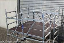 ASC Kombi-Rollbock L- große Arbeitsfläche, Rollgerüst, 3,0 m AH, erweiterbar