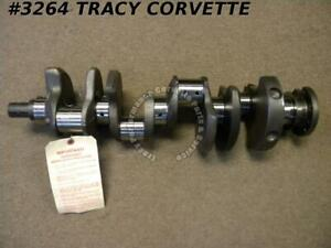 1968-1973 Chevrolet 327 307 3941174 Big Journal Crankshaft Fresh Grind 010/010