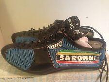 NOS DETTO PIETRO Art. 88 Saronni Leather +Nylon Road Bike Cycling Shoes Size 37