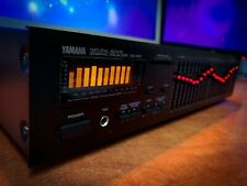 YAMAHA EQ-550 (1989) Dark Vintage Stereo Equalizer Spectrum Analyzer **MINT**