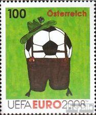 Austria 2727 fine used / cancelled 2008 Football-european championship