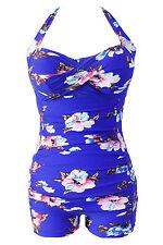 Costume Da Bagno Monokini Fiori Taglie forti Grandi Curvy Formosa Plus Size XXL