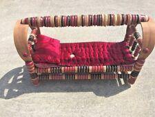 Vintage Middle Eastern Poodle Chihuahua Bed Baby Doll Infant Rocking Cradle ❤️j8