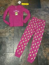 Nwt Sz 10 Gymboree Gymmies Pink Frog Girls Kiss Me Pajamas Set