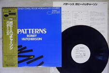 BOBBY HUTCHERSON PATTERNS BLUE NOTE/KING GXK-8185 Japan OBI PROMO VINYL LP