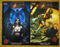 Dark Revelation #1-2 VF/NM complete series - anarchy comics bad girl set lot