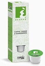 100 Capsule Caffitaly System Ecaffè Caffè Verde e Ganoderma