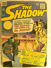The Shadow Archie Series Comic Book No 4 1965 12 cent Dr Demon