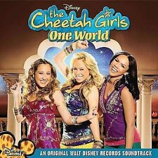 (CD; Digipak) The Cheetah Girls - One World {2008, Disney] (Enhanced CD)