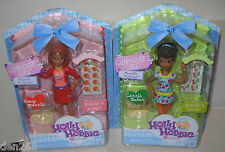 #8213 Rare Nrfb Mattel Holly Hobbie Clubhouse Figures Amy Harris & Carrie Baker