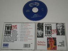 VARIOUS/TWO-TONE LIVE(HALLMARK/303662)CD ALBUM