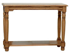 #8839 Solid Oak Country Trend Sofa Table