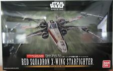 Bandai Star Wars Two Kit Red Squadron X-Wing StarFighter Model Kit 1/72 + 1/144