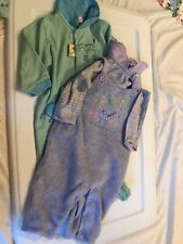Carter's Vintage John Lennon Footed Piece Collector Item 6-9 Mos set 2 Beatles