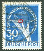 Berlin Nr. 70 I gestempelt Vollstempel Lichtenrade Plattenfehler Michel 500,00 €