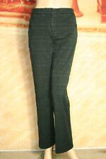 Womens Burberry London Jeans Pants Straight Leg Stretch Black US 6 UK 8