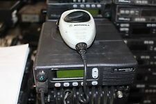 Motorola Mcs2000 Model M01ujl6pw4bn Radio With Mic