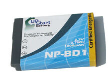 Battery for Sony Cyber Shot DSC T90, DSC T200, DSC T700, NP BD1, NP FD1 DSC T2 G