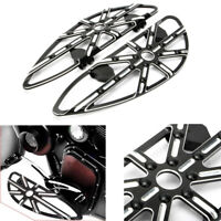 Motorcycle Front Drive Floorboards Footboard For Harley Street Glide CVO Ultra