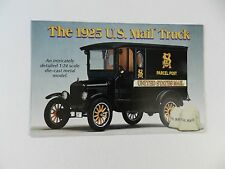 Danbury Mint 1925 U.S. MAIL TRUCK Brochure Pamphlet Mailer