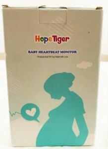 Hope Tiger  Baby HeartBeat Monitor  LCD Display Screen NIB
