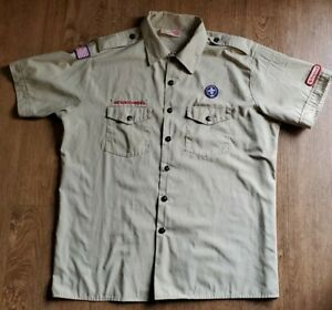 BSA Boys Scouts of America Uniform Shirt Mens XL (17-17 1/2)