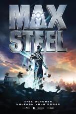 MAX STEEL 11x17 Original Promo Movie Poster 2016 Mint