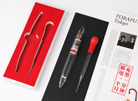 Moonman M2 Transparent Eye Dropper Filling Fountain Pen Large-Capacity Gift Pen