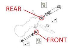 vorne & hinten Verteilergetriebe Leistung Simmerringe für Nissan Navara D40