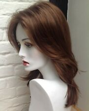 Hot Hair (natural image) Ladies wig Josie Ginger Brown