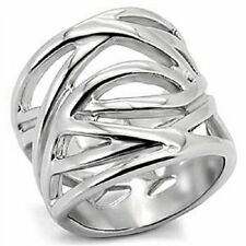Unbranded Stainless Steel Costume Rings without Stone