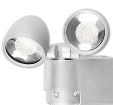 LED Außenleuchte Wandleuchte Bewegungsmelder Guss Strahler Außenlampe Spot 2er