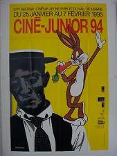 Affiche Festival Cinéma CINE JUNIOR1994 illustr. RANCILLAC