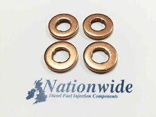 Peugeot 107 1.4 HDi Common Rail Diesel Injector Washers/seals Siemens VDO x 4