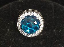 Pandora Charm 791725NBS Radiant Hearts Sky Blue S925 ALE