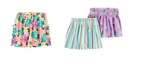 NEW CARTER'S GIRLS 2-PIECE SET SKORT - VARIETY
